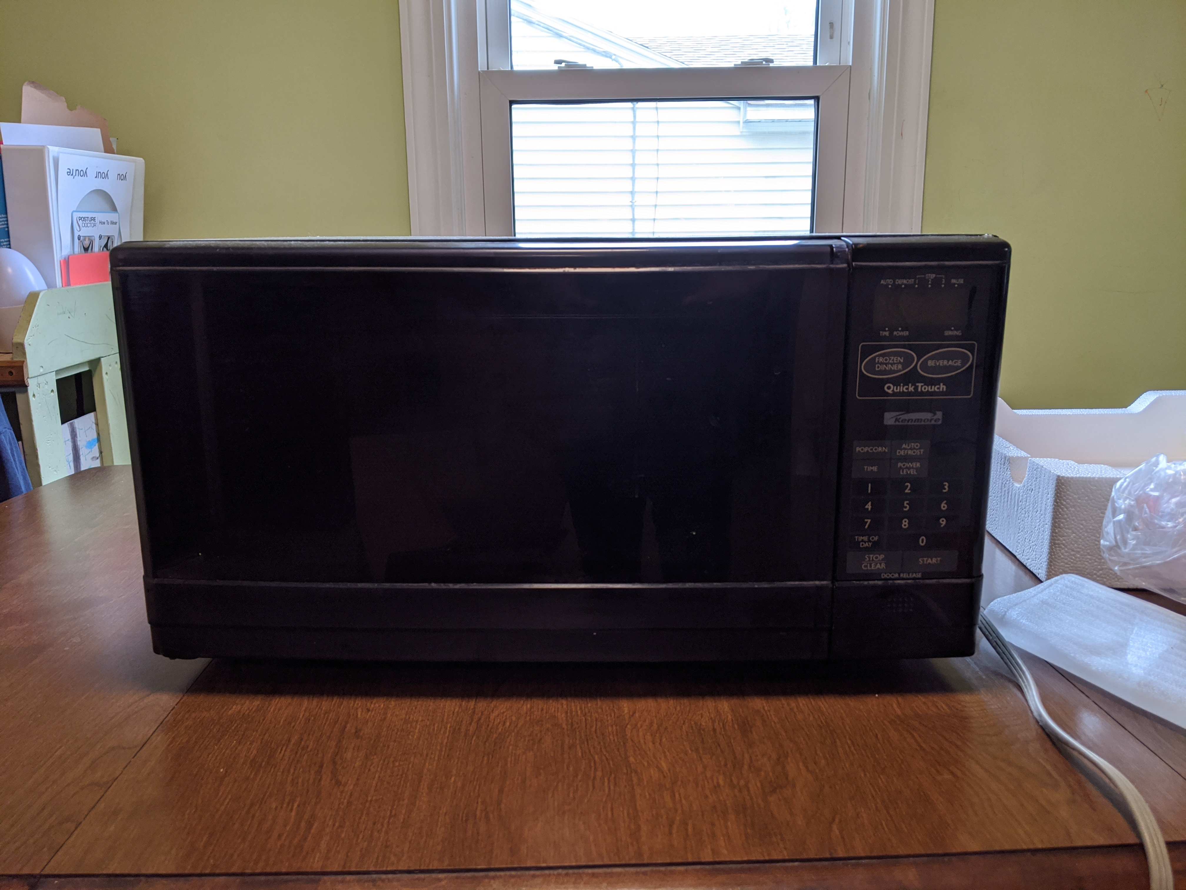 Old microwave